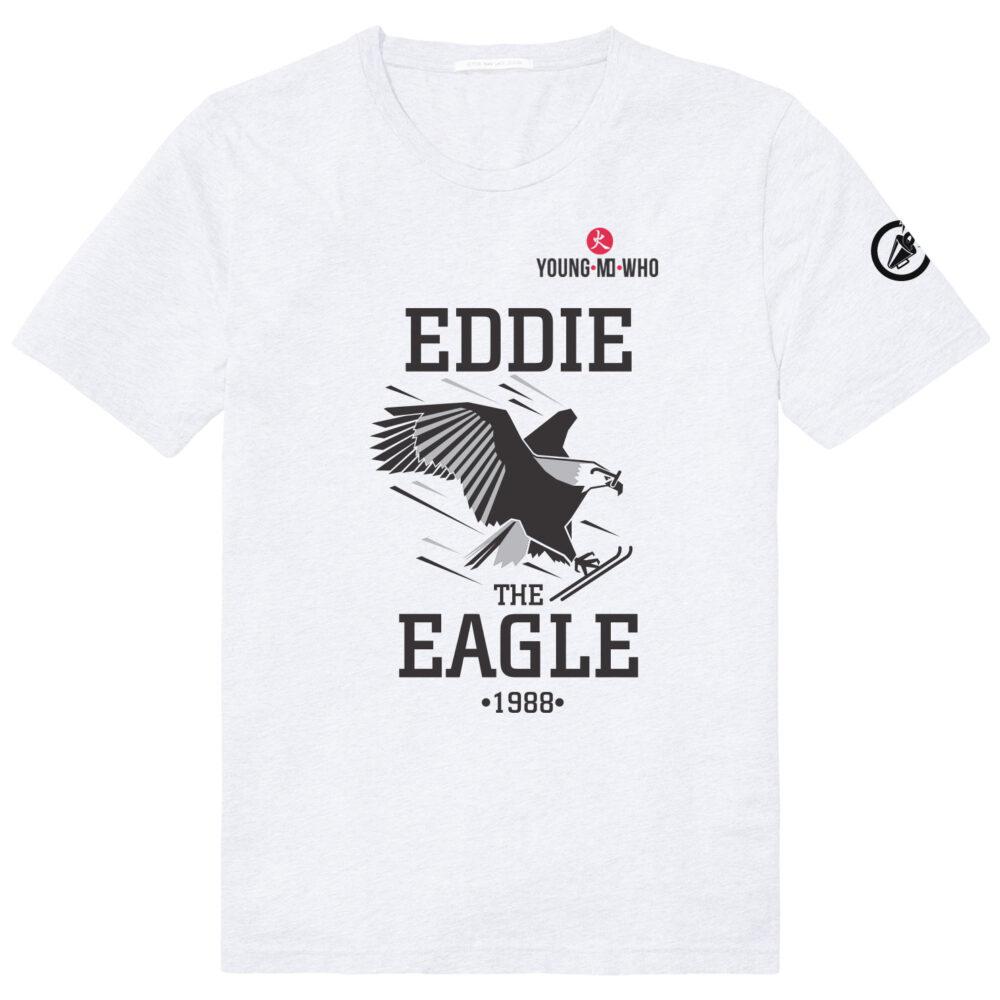 De echte Eddie the Eagle in actie
