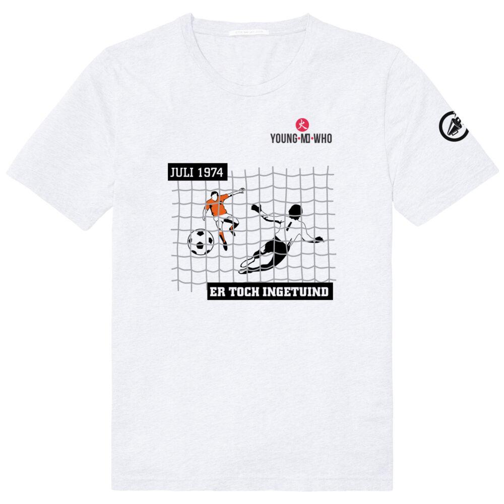 Penalty Johan Neeskens, minuut 1 in de WK Finale van 1974 Nederland - Duitsland