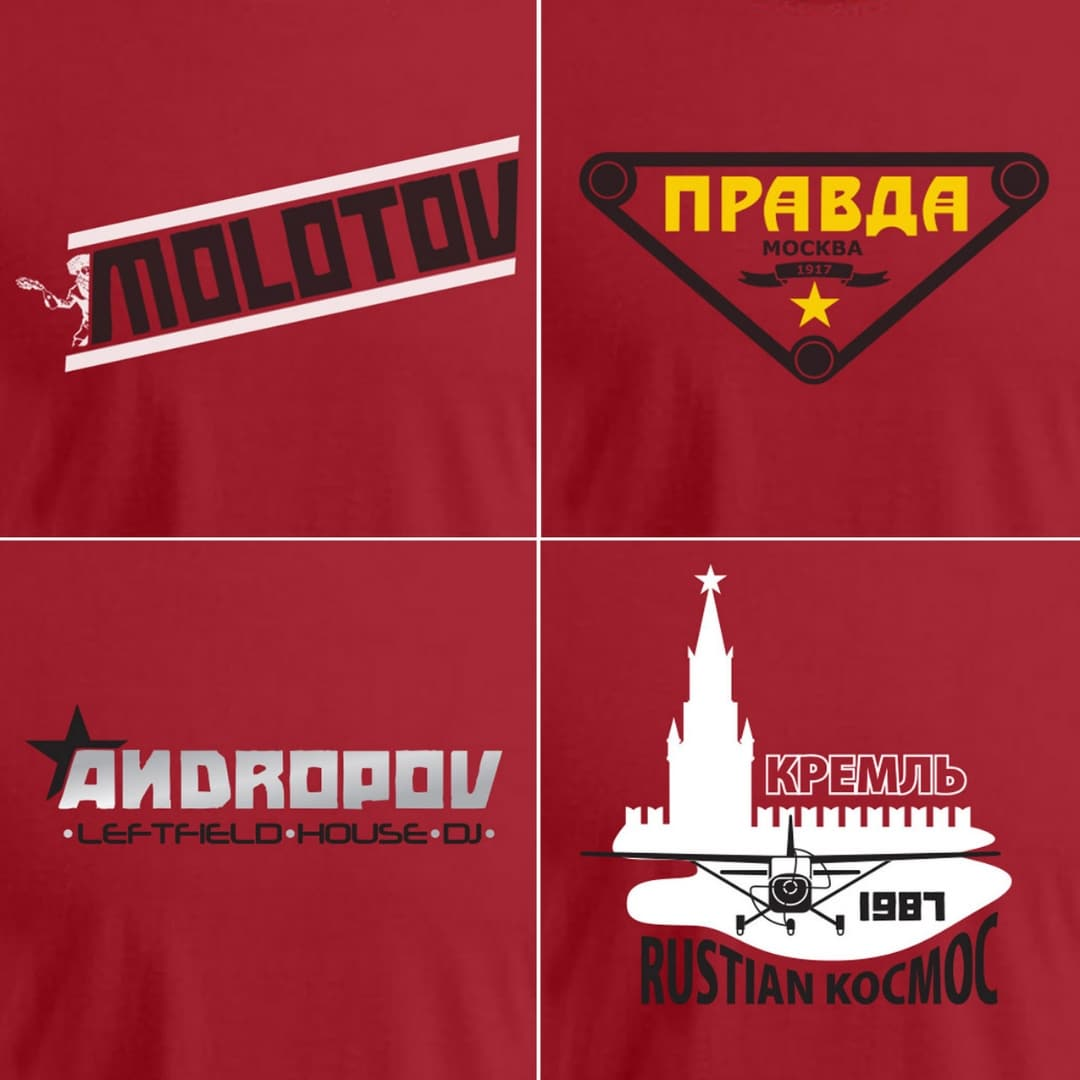 Serie Shirts Over Rusland